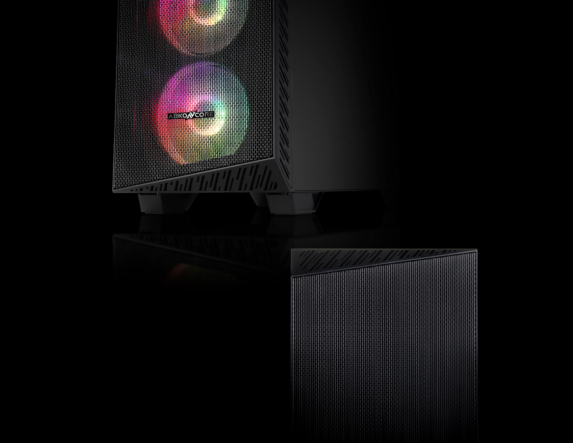 Caja de torre grande Tengri 750X Description Diseño