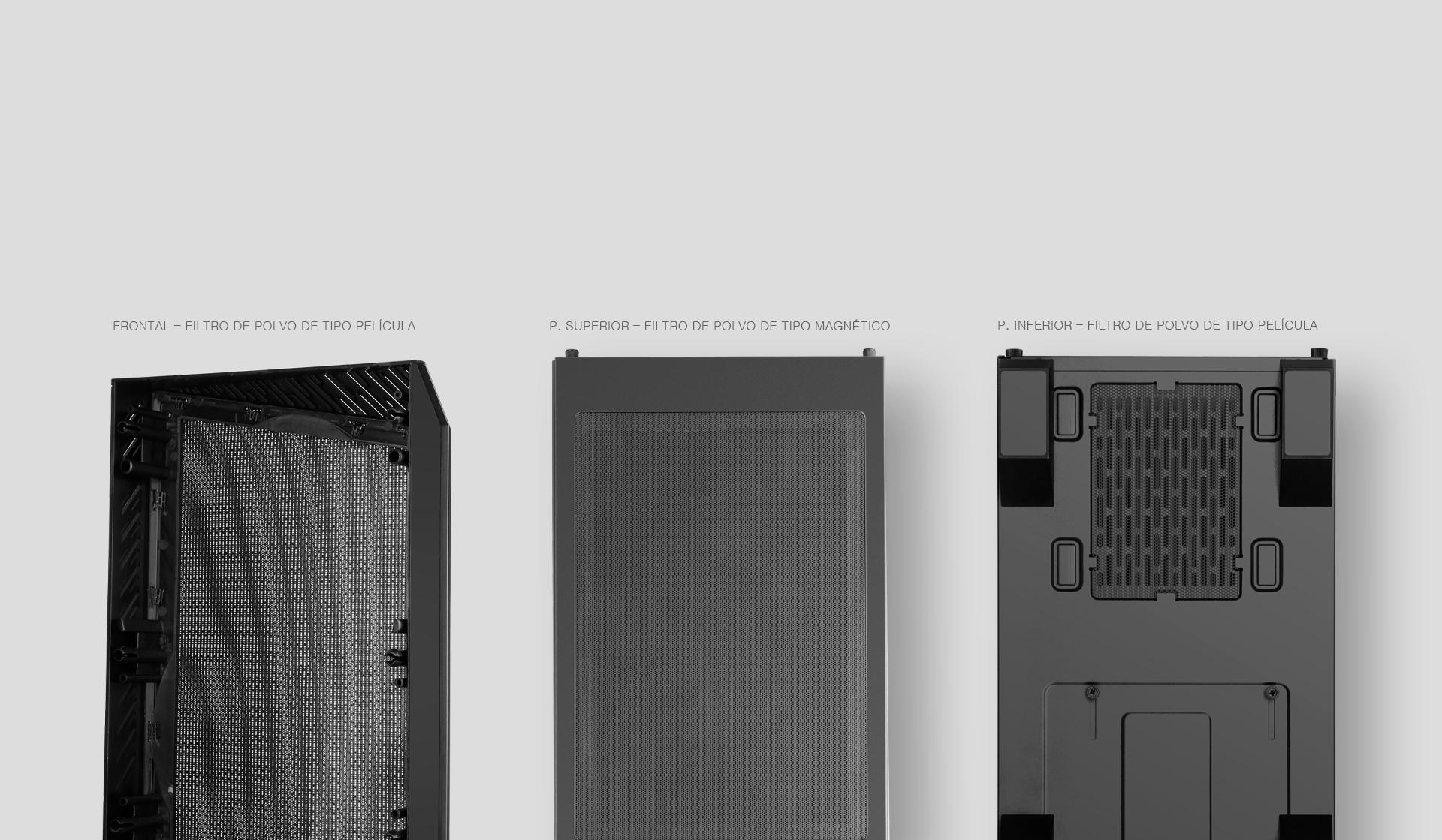 Caja de torre grande Tengri 750X Description filtro de polvo