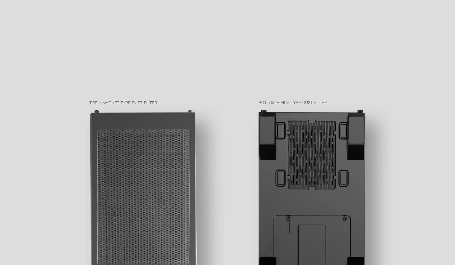 Caja de torre grande Tengri 750G V2 Descripción dust filter