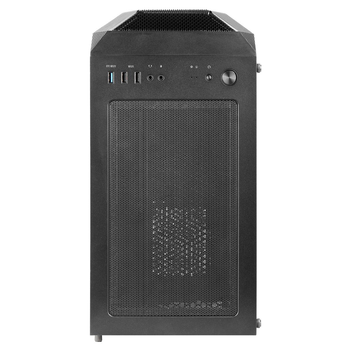 Caja de torre mediana Helos 250X Top dust filter