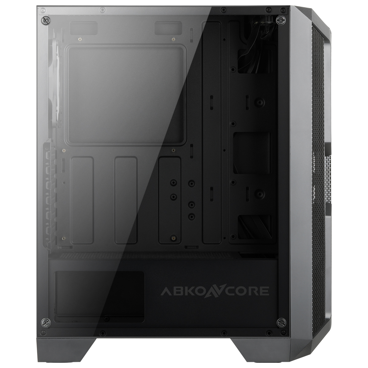 Caja de torre mediana Helios 250X panel cristal templado