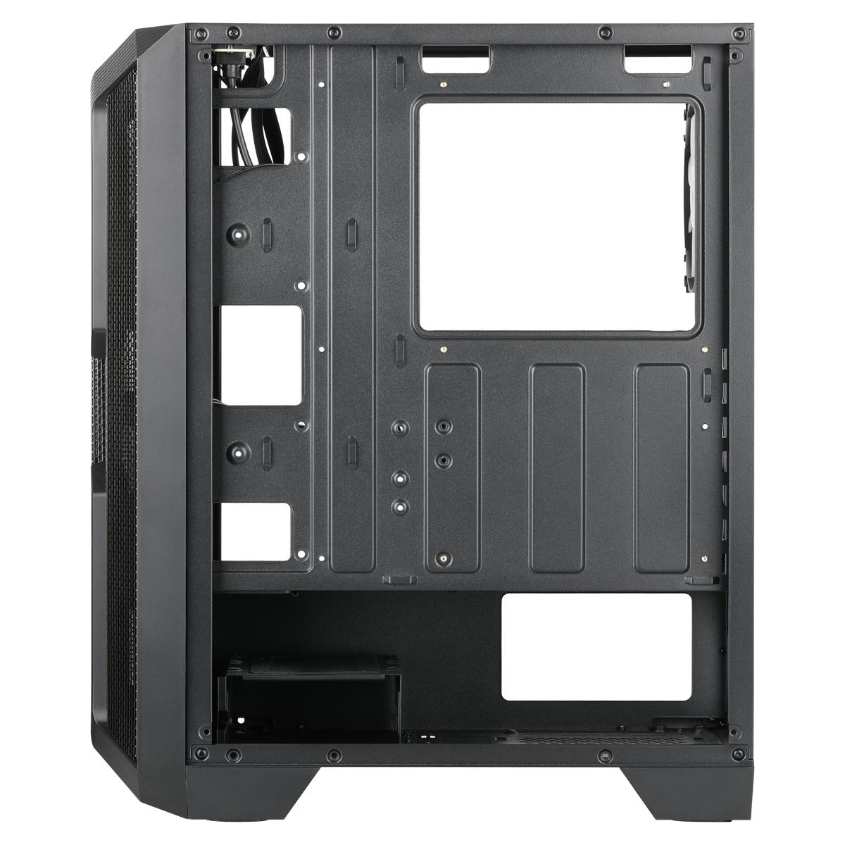Caja de torre mediana Helios 250X interior vacío