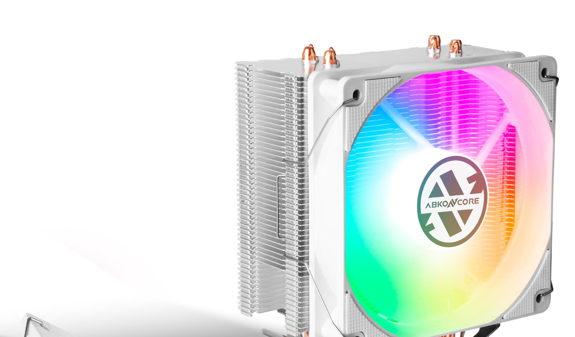 CPU Cooler T405 en color blanco descripción refrigeración