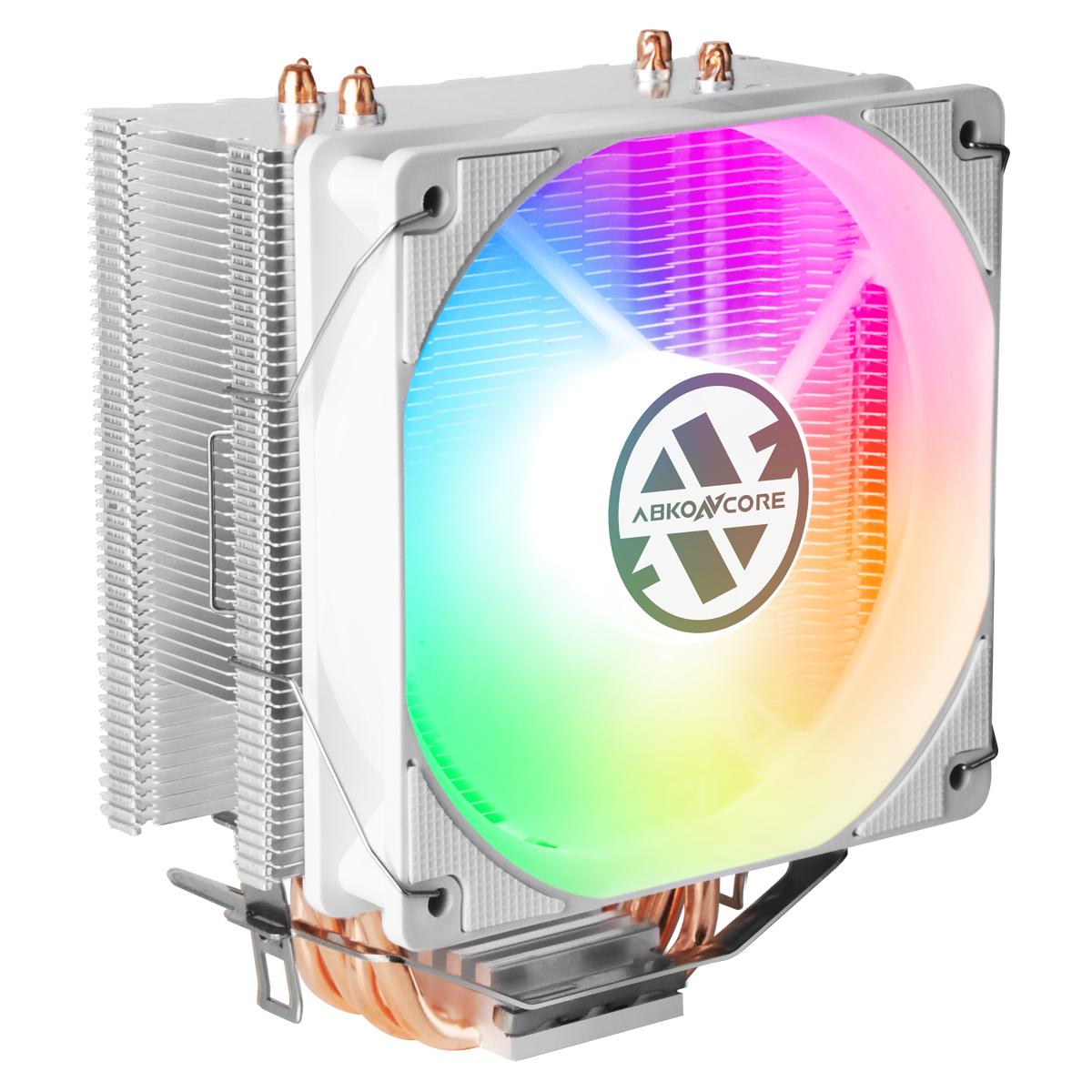 CPU Cooler T405 en color blanco ángulo izq