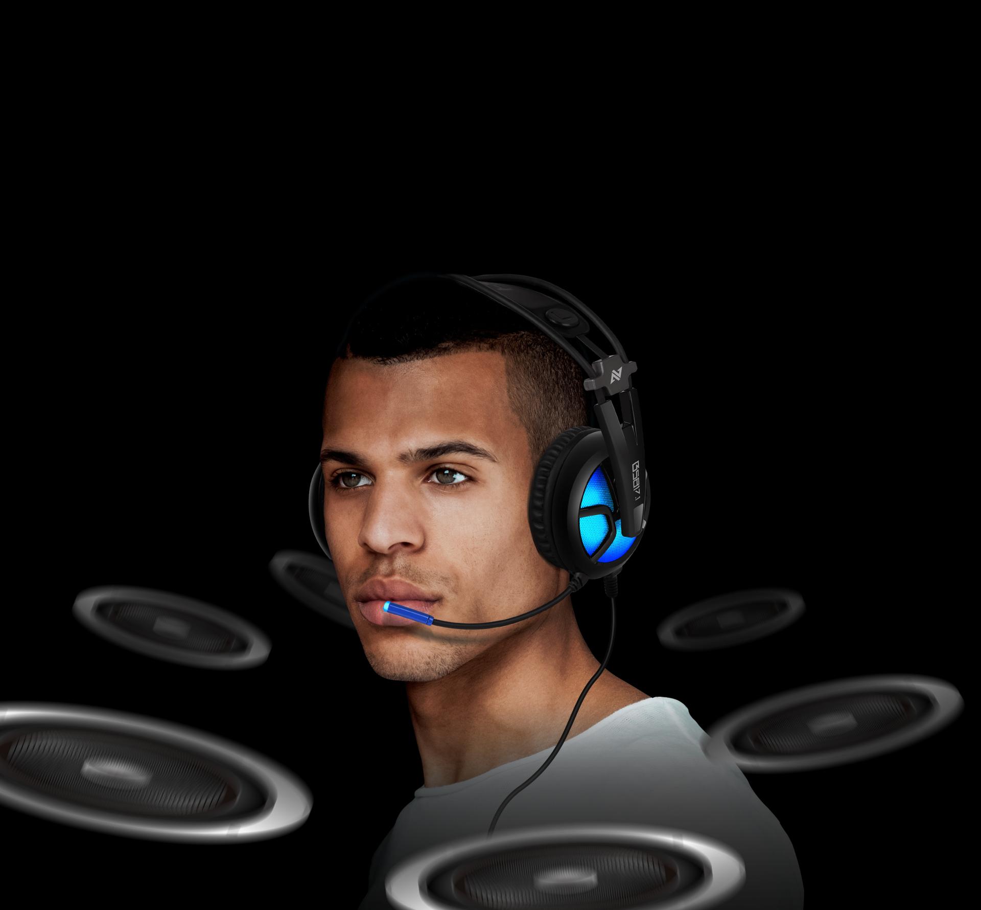 Auriculares B581 Virtual 7.1 Imagen descripción sonido envolvente