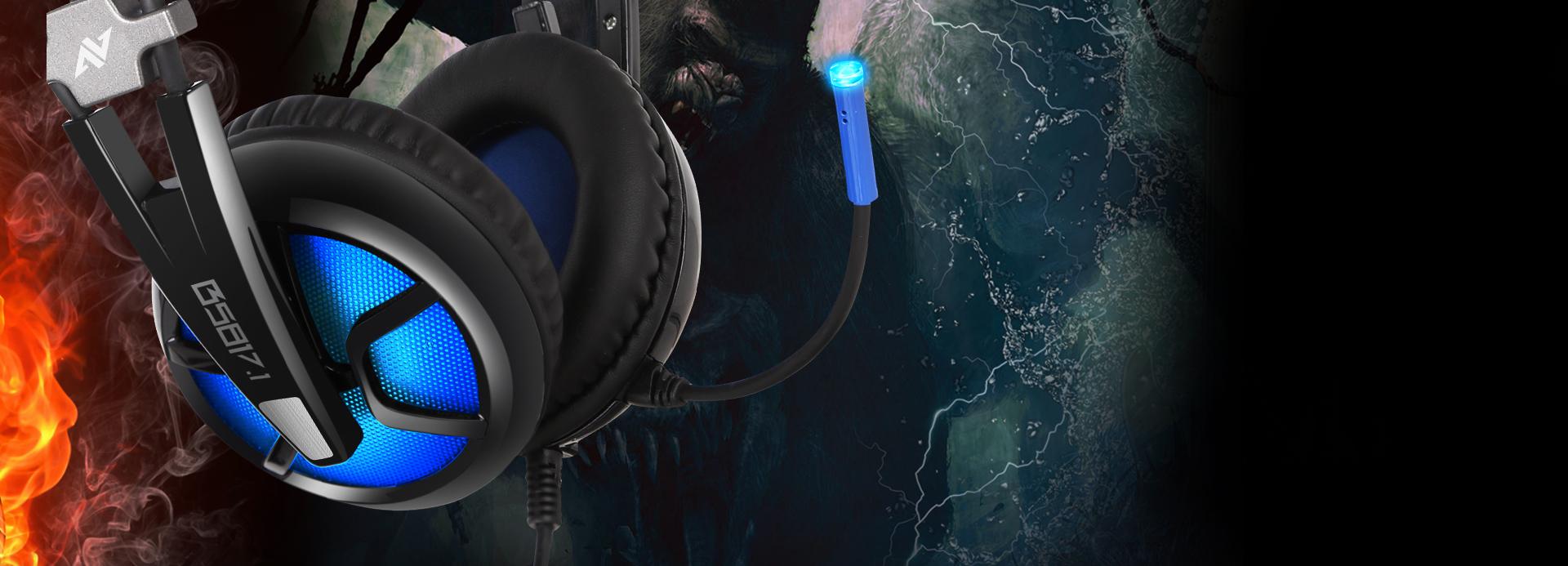 Auriculares B581 Virtual 7.1 Imagen descripción audio dinámico