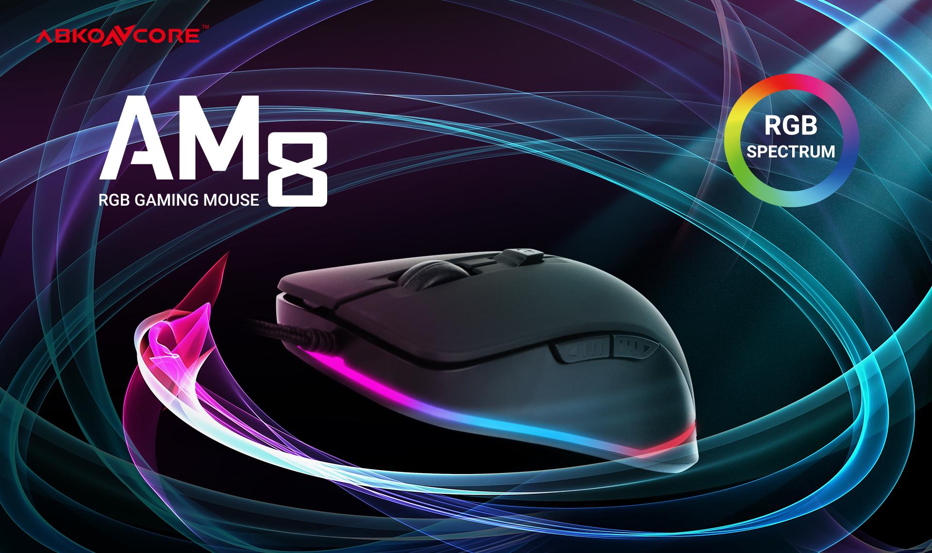 Ratón Gaming Astra AM8 imagen descripción