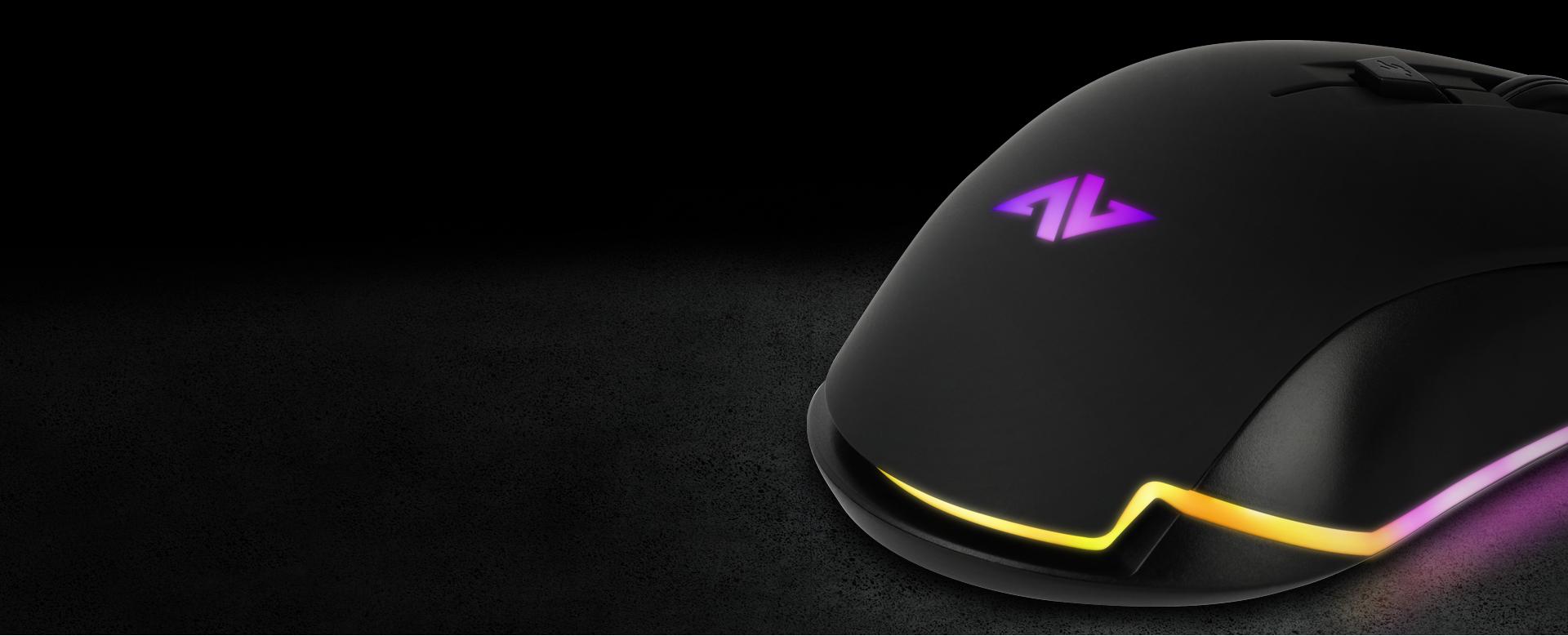 Ratón Gaming Astra AM8 imagen descripción cubierta antideslizante