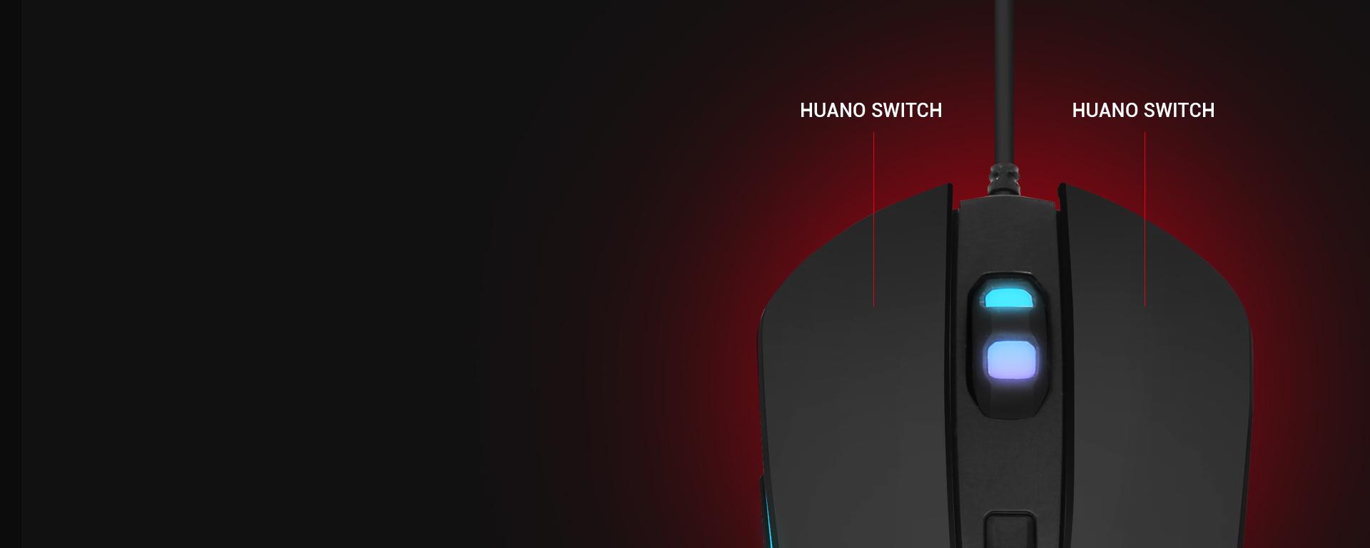 Ratón Gaming Astra M30 imagen descripción durabilidad