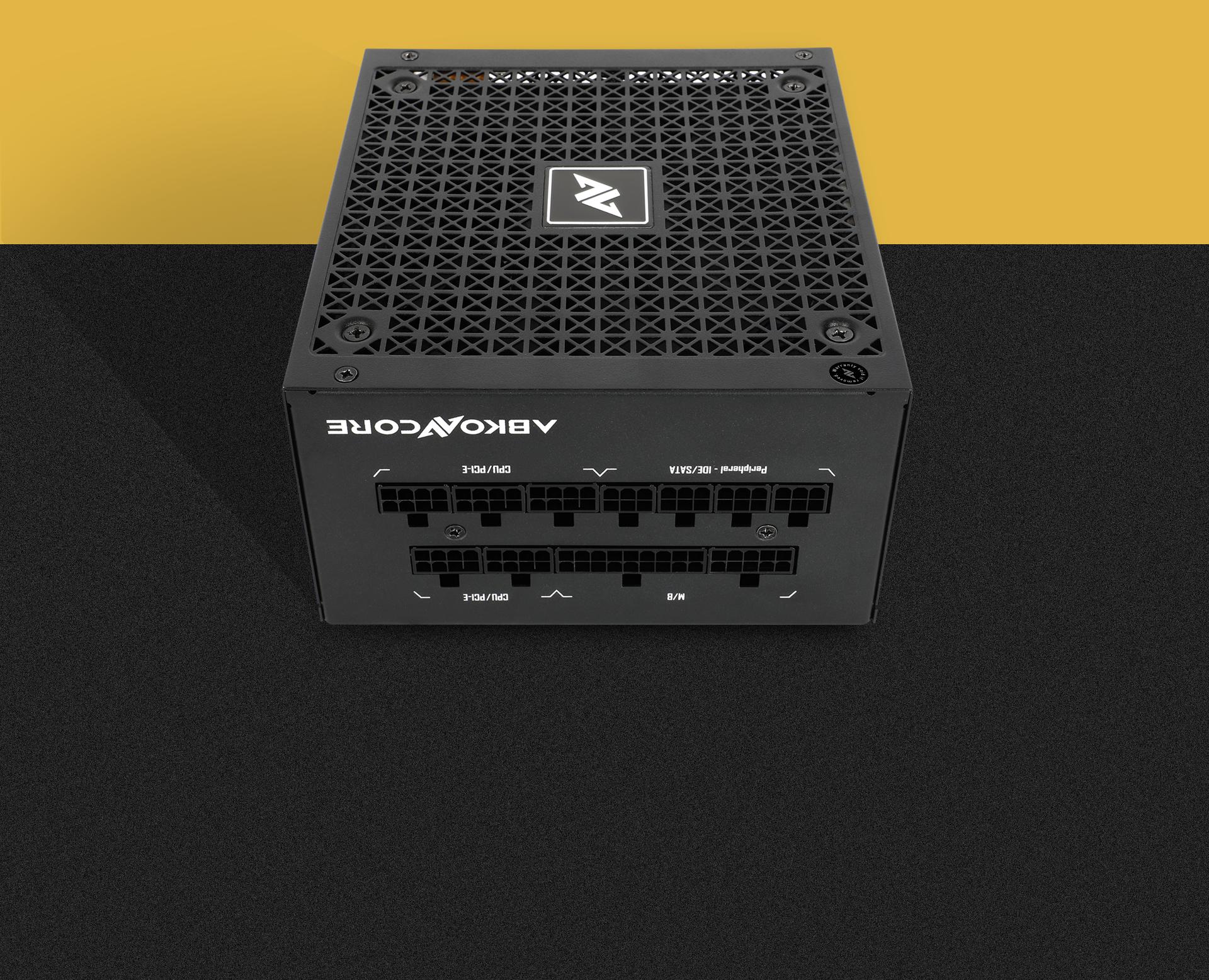 Fuente de alimentación TN850W Gold Modular imagen descripción gestión de cables modular